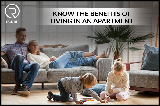 Know the Benefits of living in an Apartment